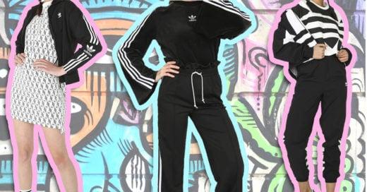 chicas con ropa estilo athleisure look urbano