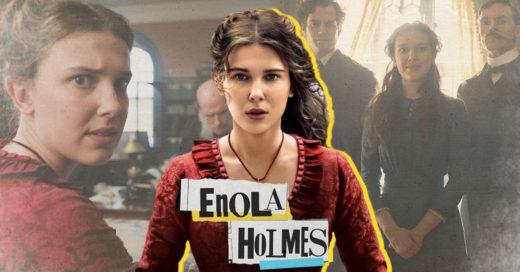 Millie Bobby Brown como Enola Holmes
