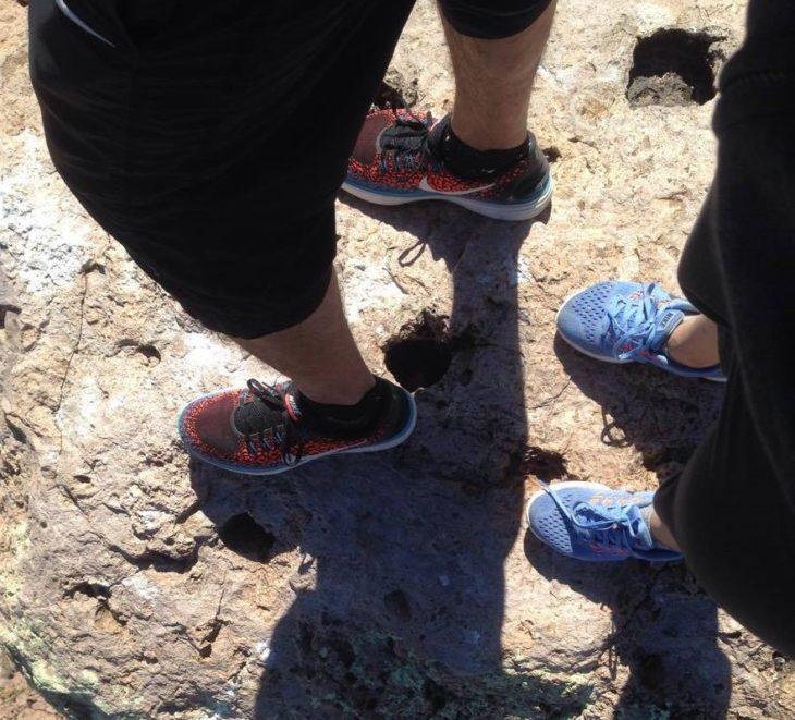 pies de corredores