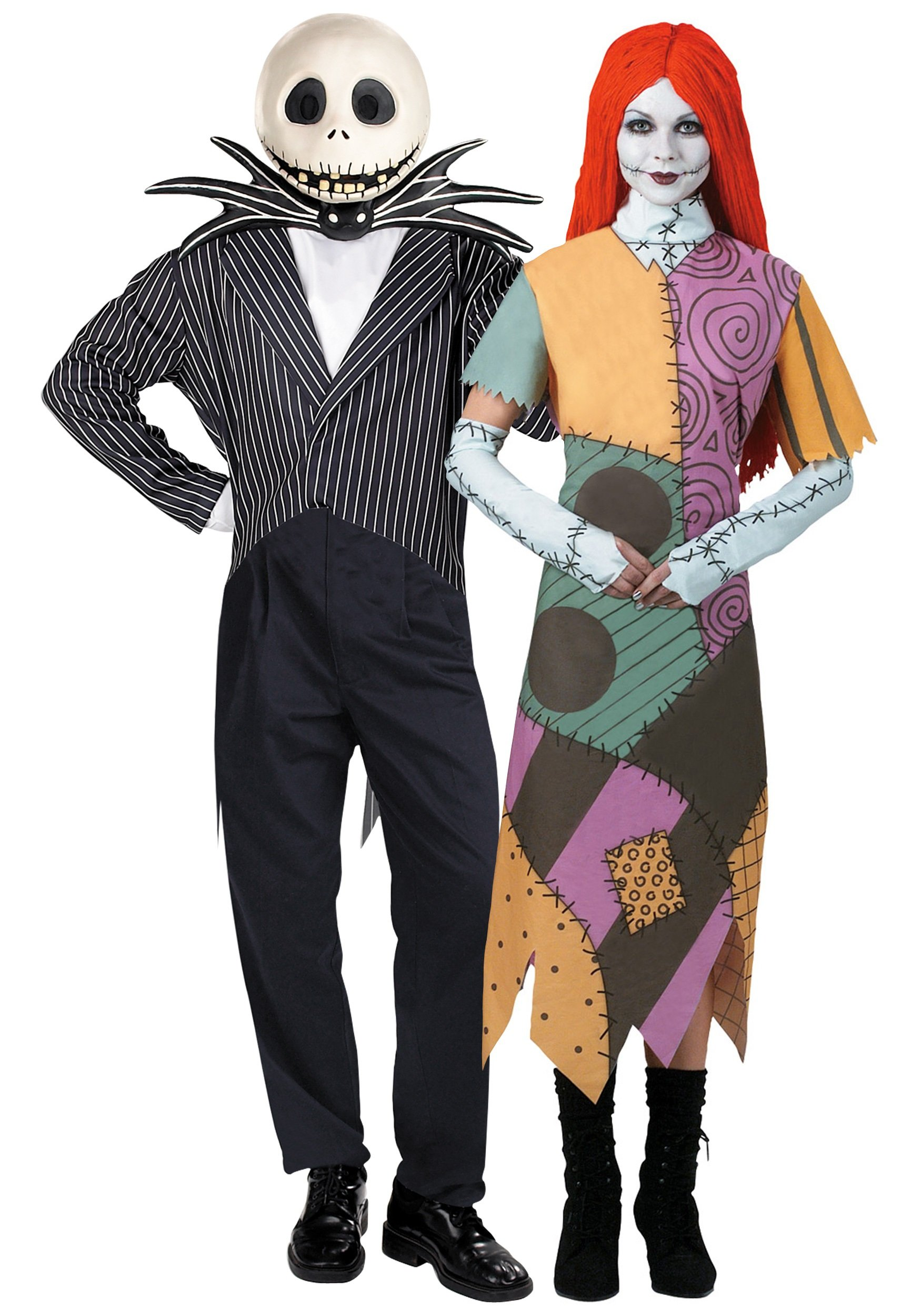 images.costumesgalore.net nightmare,before,christmas,couple,costume