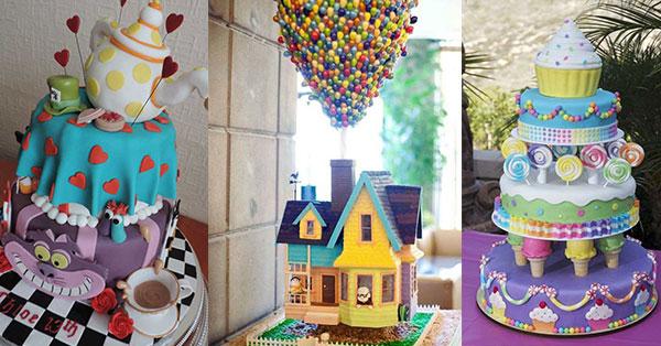 los pasteles mas coloridos y creativos