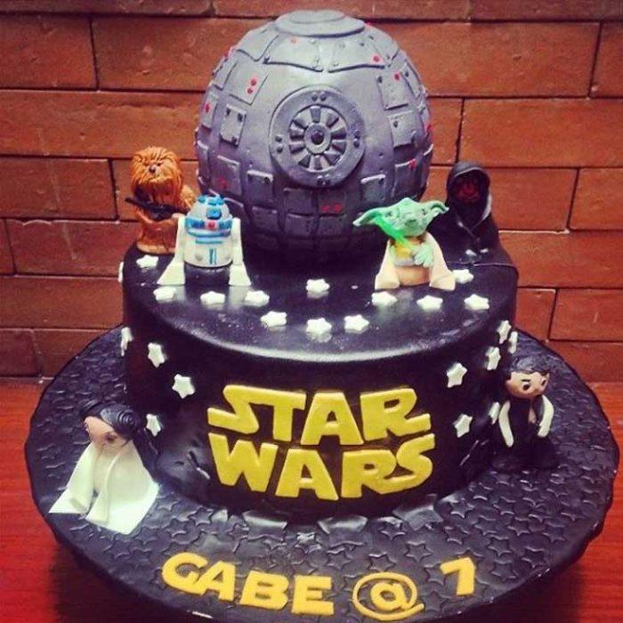star wars torta pastel