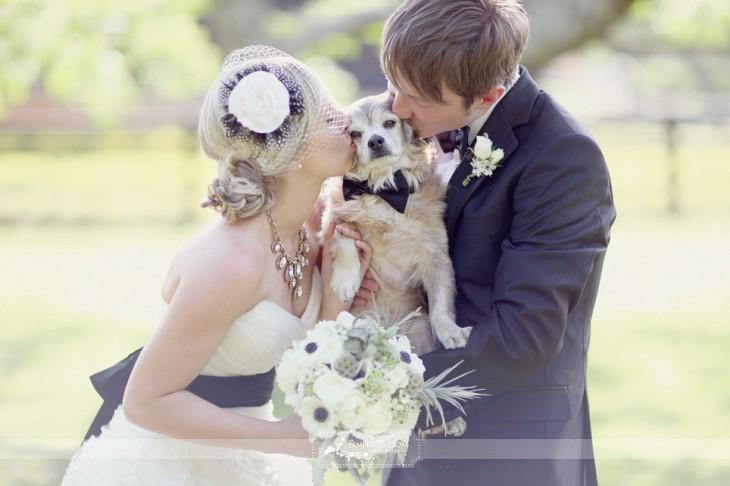 amos con su perro beso