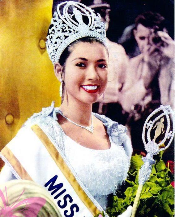 Apasra Hongsakula Miss universo en el año 1965
