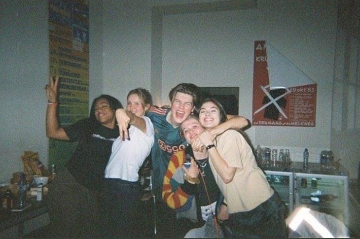 Fotografía grupo de amigos