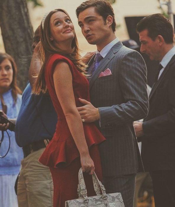 """Blair y Chuck de """"Gossip girl"""""""