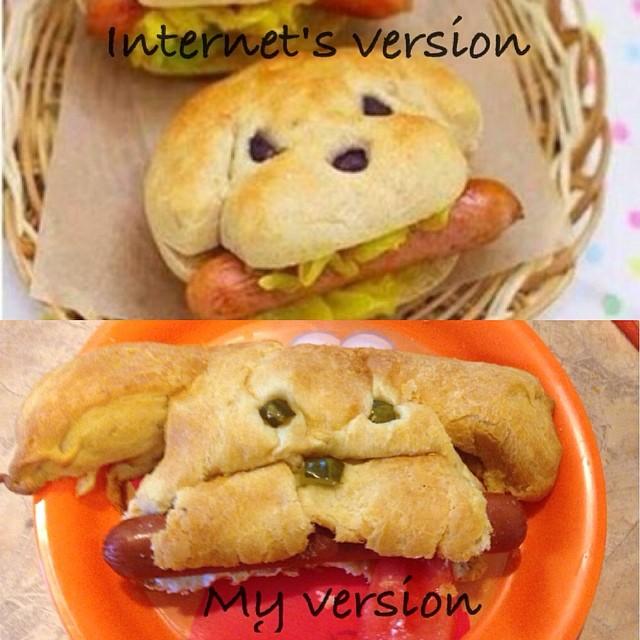 sandwich de perrito