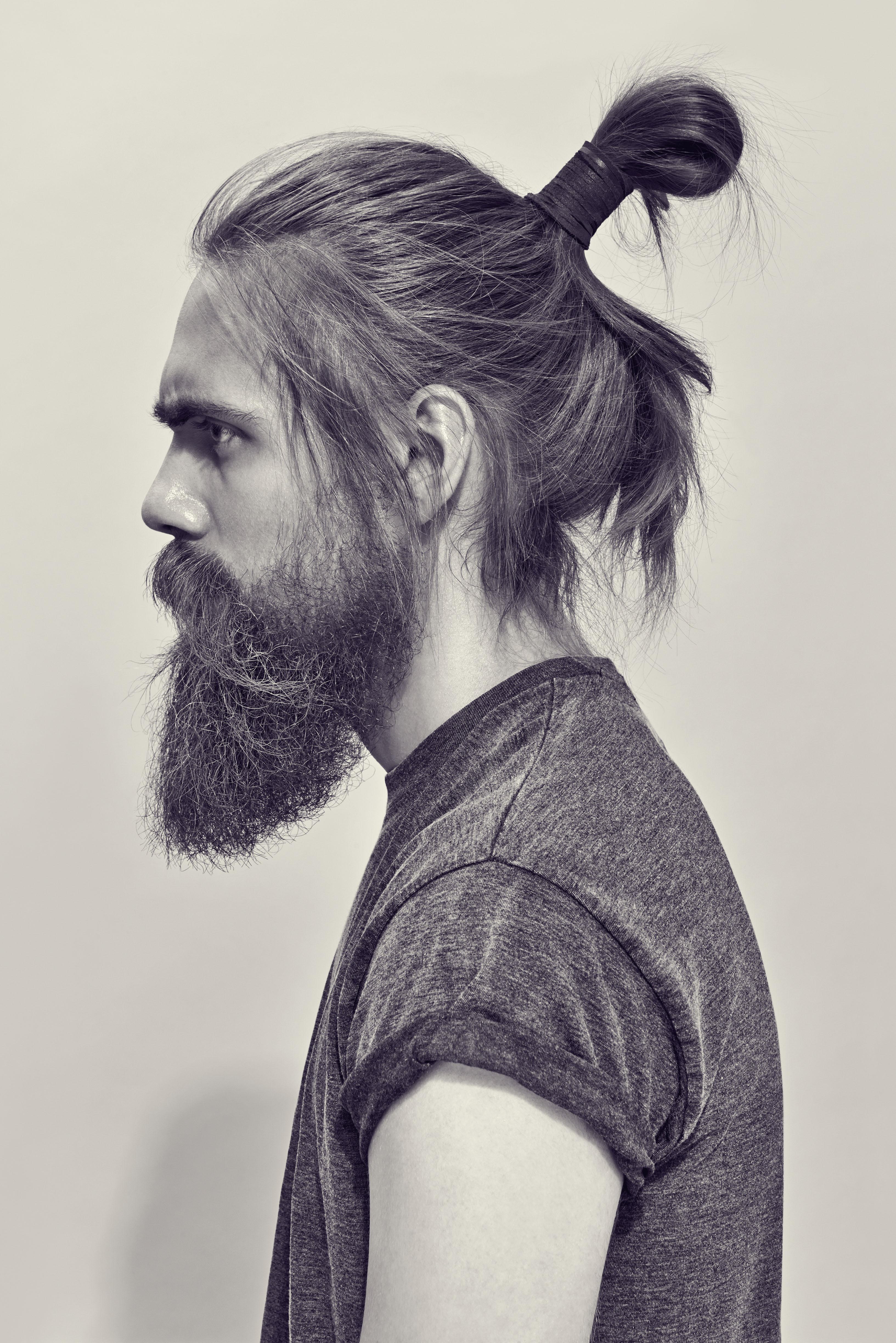 35 Hombres Con Colita De Cabello Y Barba Que Te Enamorar 225 N