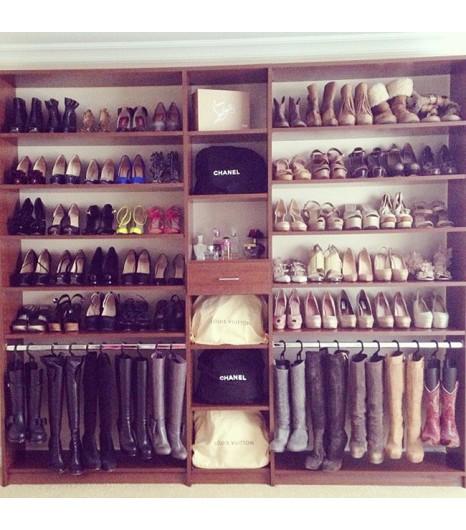 Tips que te servir n para organizar tu armario y cajones - Armarios para zapatos ...