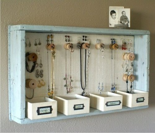 Tips que te servir n para organizar tu armario y cajones - Porta gioielli ikea ...