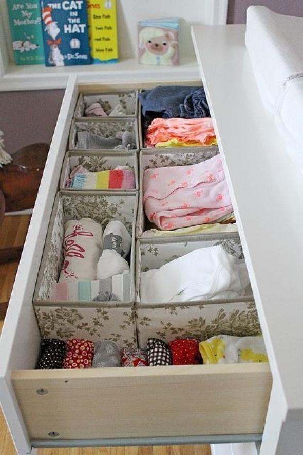 Tips que te servir n para organizar tu armario y cajones - Cajas para ordenar ...