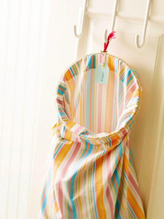 cesto de tela para la ropa sucia