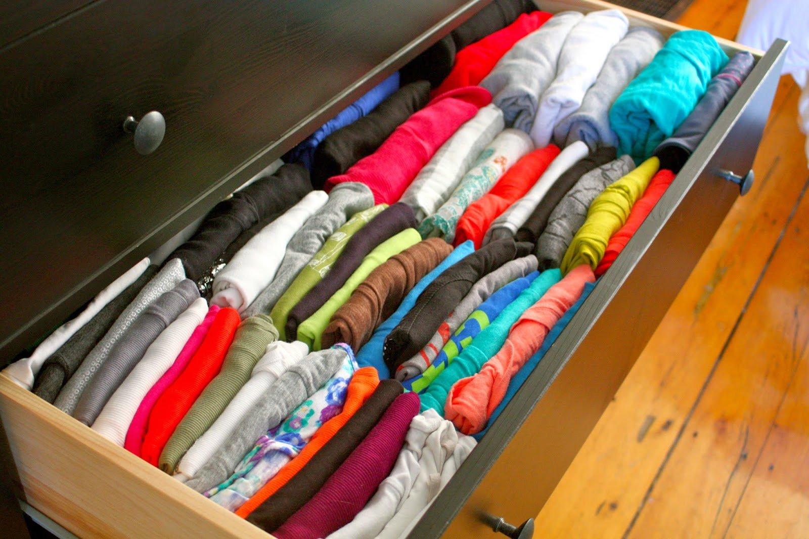 Tips que te servir n para organizar tu armario y cajones for Como organizar mi armario