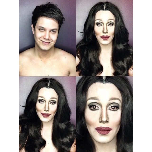 Paolo Ballesteros transformado en Cher