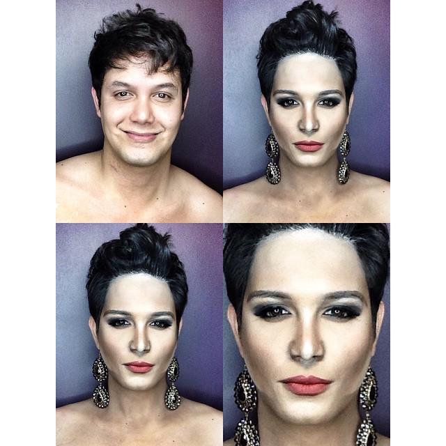 Paolo Ballesteros transformado en Miss Jamaica 2015