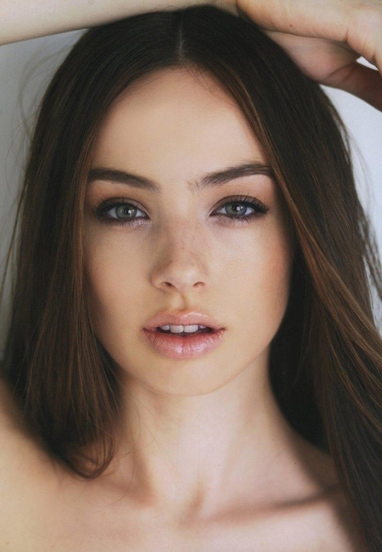 Opinion Nice model facial