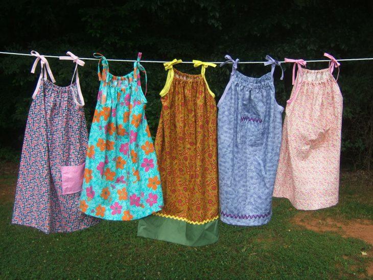 Vestidos realizados por Lillian Weber