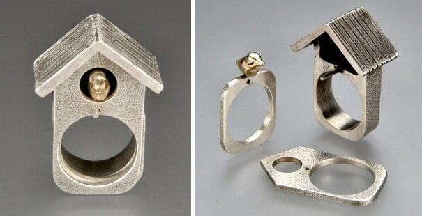 Divertidos diseños de anillos creativos que te fascinarán