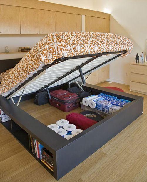 25 ideas que te har n ahorrar espacio en tu departamento