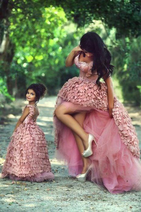gustos en comun madre e hija