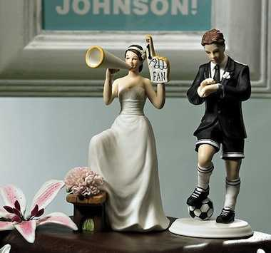 novia fan de su novio, amantes de futbol soccer