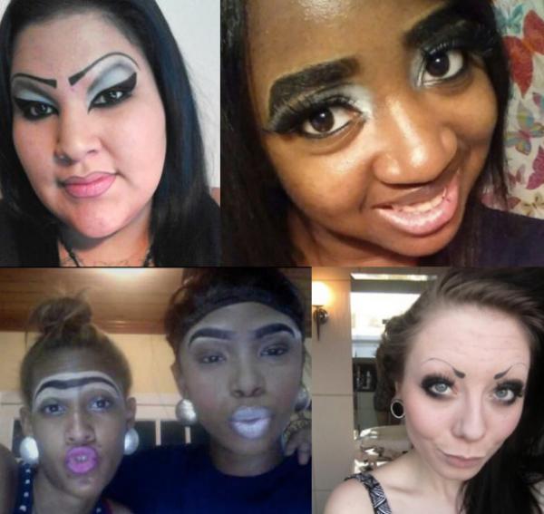 diferentes mujeres posando para una foto