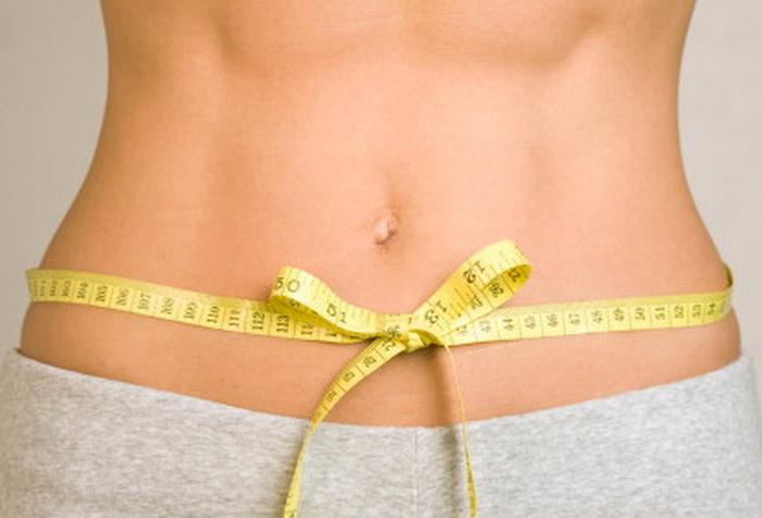 Medida de un vientre plano