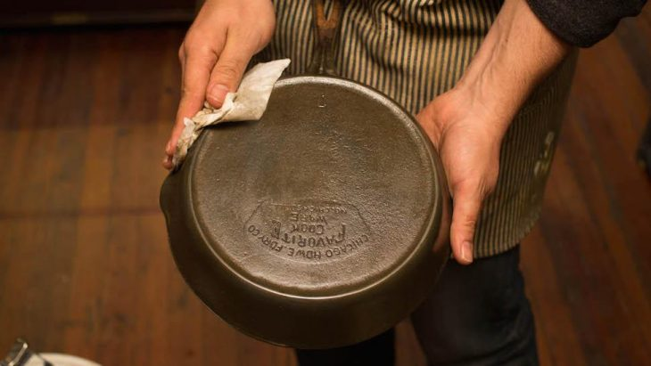 limpieza sarten de teflon