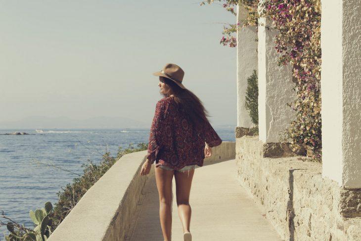 libertad playa gorro con short