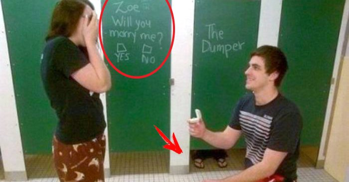 Increíbles propuestas de matrimonio ¿Cuál es tu favorita?