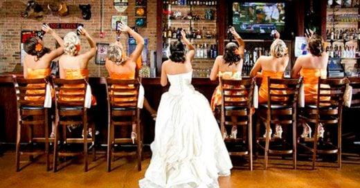 25 Divertidas ideas para la sesión de fotos el día de tu boda ¡Serán inolvidables!