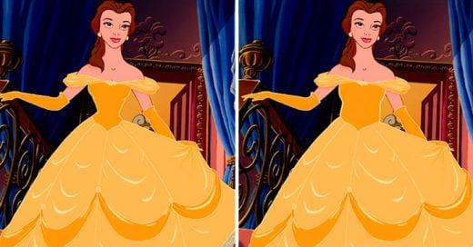 ¿Te imaginas como lucirían las princesas de Disney con una cintura normal? Este es el resultado