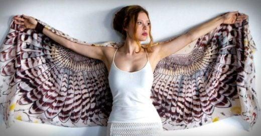 Increíbles bufandas con diseños que te darán alas