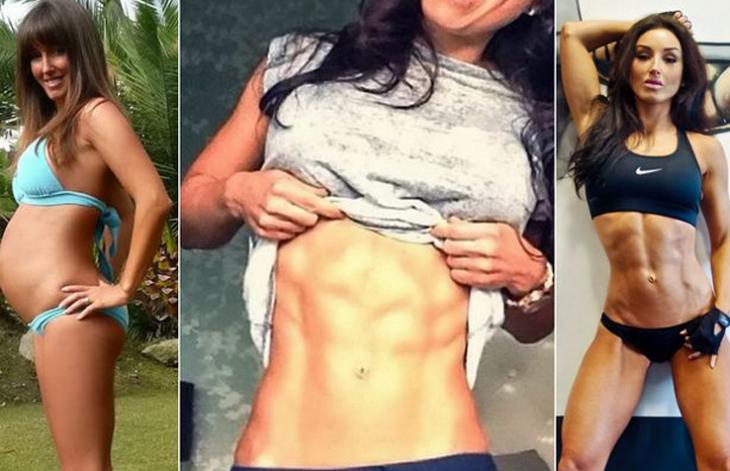 Conoce a la mamá más criticada en redes sociales por mostrar su abdomen