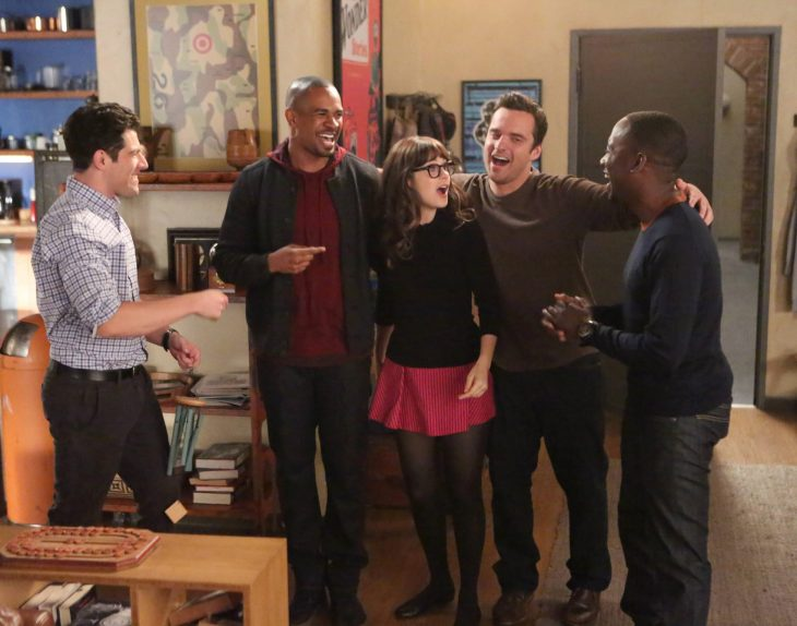 Escena de New Girl