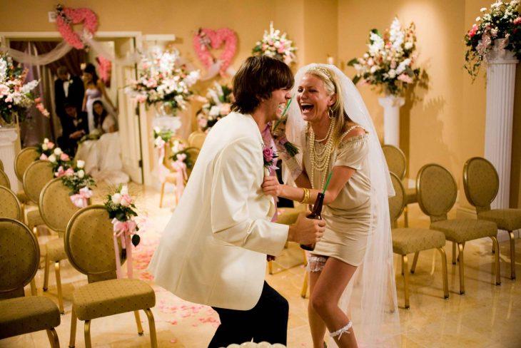 Escena de la película locura de amor en las vegas