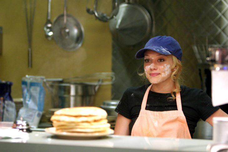 Hilary Duff en una escena de la película la nueva cenicienta