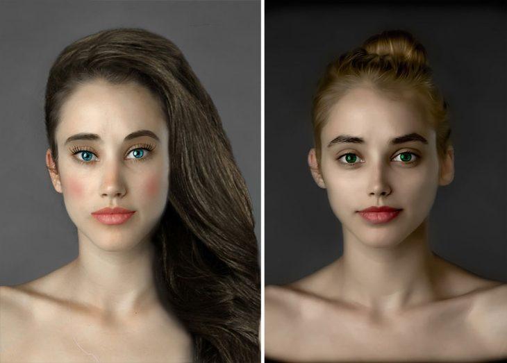 """Photoshop Esther Honig """"EE.UU."""""""