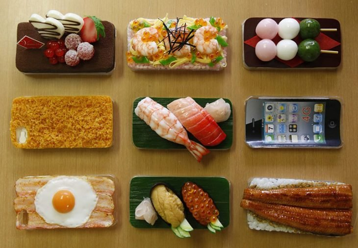Funda para celular comida china