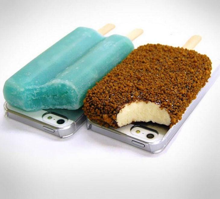 Funda para celular paletas de hielo