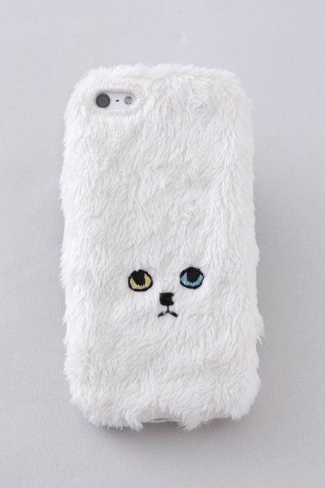 Funda para celular gato peludo