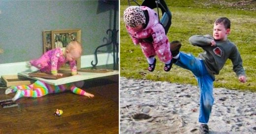 15 Imágenes graciosas que te recordarán lo que es tener hermanos