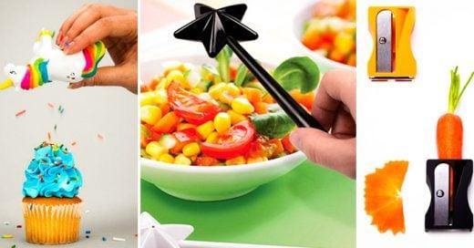 35 Utensilios de cocina para los amantes de la comida ¡Los quiero todos!