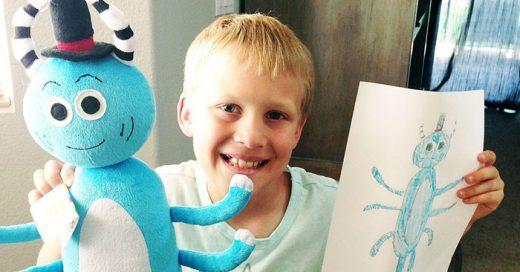 Compañía de internet convierte dibujos infantiles en VERDADEROS peluches
