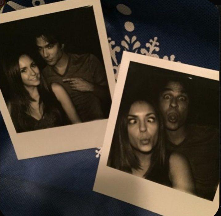 Elena y Damon vampire diaries