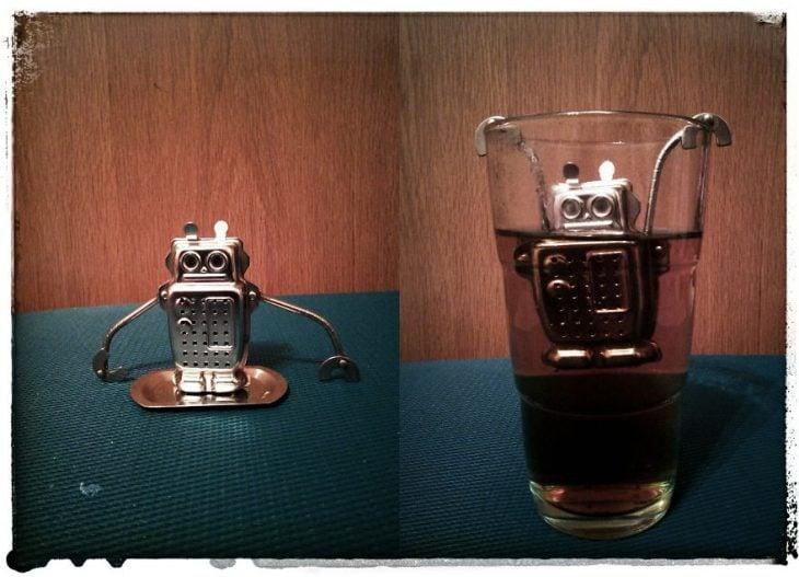 Robot infusor de té