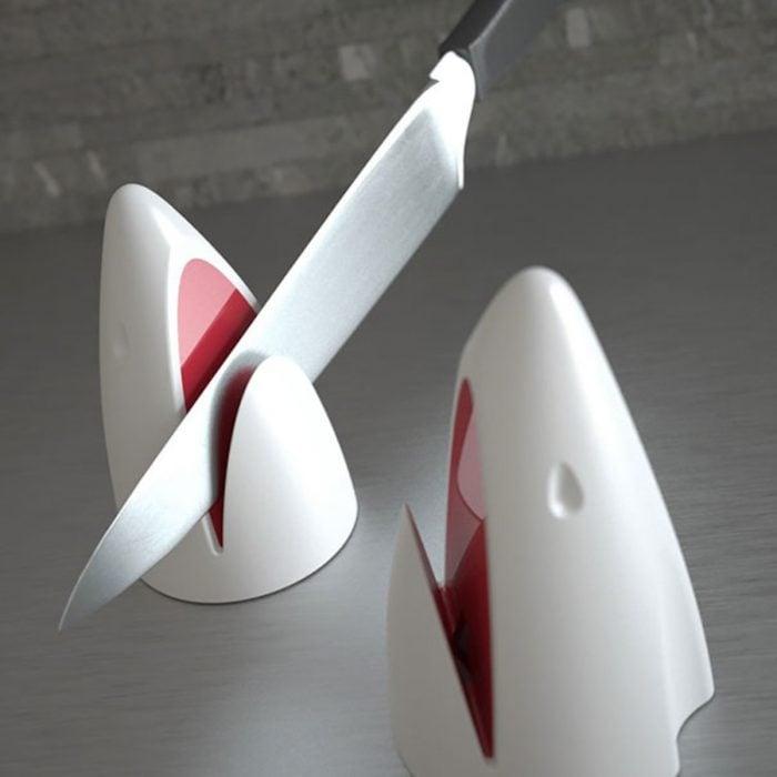 Tiburón afilador de cuchillos