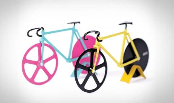 bicicletas cortadora de pizza