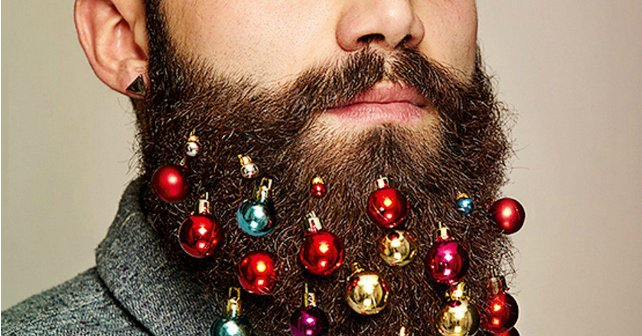 barba con esferas