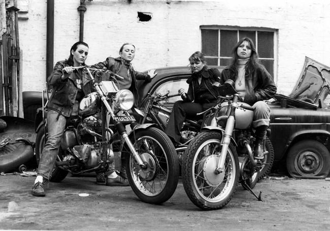 mujeres motociclistas